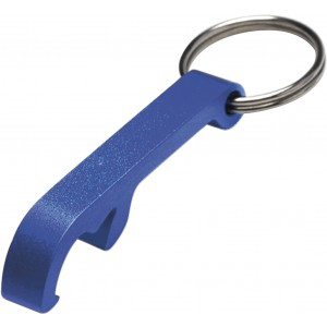 Key holder and bottle opener, Blue (8517-05)