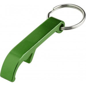 Key holder and bottle opener, Green (8517-04)