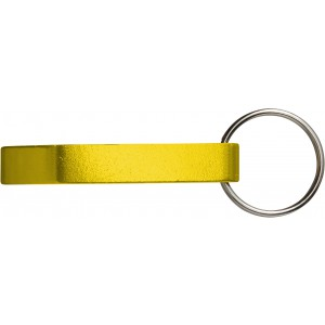 Key holder and bottle opener, Yellow (8517-06)