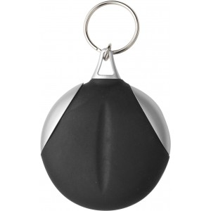 Key holder with fibre cloth, Black (1152-01)