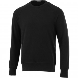 Kruger crew neck sweater, solid black, XS (3822499)