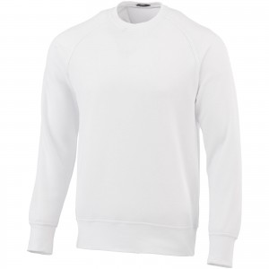 Kruger crew neck sweater, white, XS (3822401)