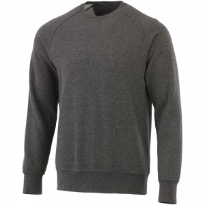 Kruger crew sweater, Heather Charcoal (3822498)