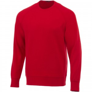 Kruger crew sweater, Red (3822425)