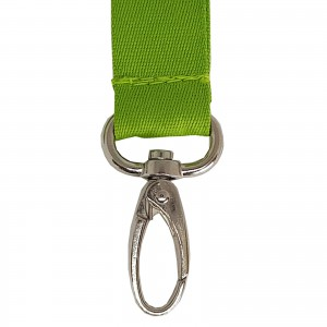 Lanyard with oval carabiner, 20 mm (raw material) (RAM1113)