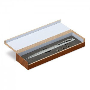 Laser pointer in wooden box (MO8193-14)