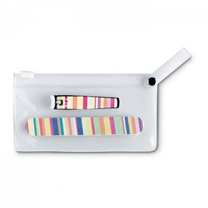 Manicure tools in clear pouch (IT3706-99)