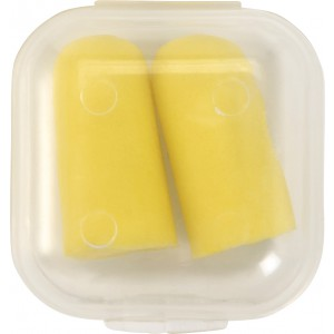 Memory foam earplugs, yellow (8192-06)