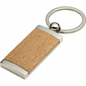 Metal and wooden key holder, Brown (8771-11)