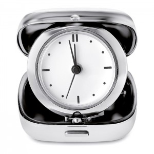 Metal travel alarm clock (KC8507-17)