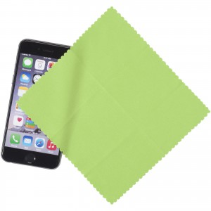 Microfiber Cleaning Cloth In Case, green, 15 x 15 cm (13424304)