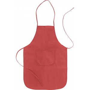 Nonwoven (70 g/m2) apron, Red (7287-08)