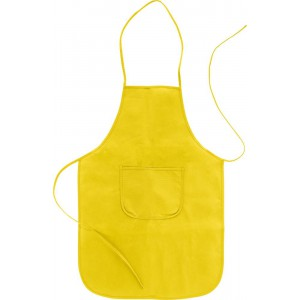 Nonwoven (70 g/m2) apron, Yellow (7287-06)