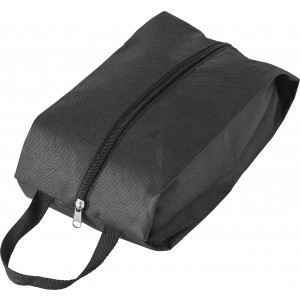 Nonwoven (80g/m2) shoe bag, black (6397-01)