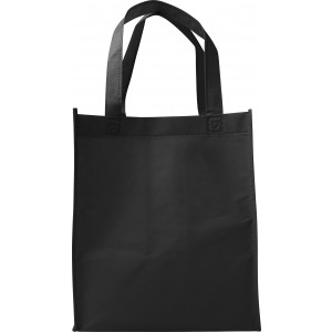 Nonwoven (80gr) carry/shopping bag., Black (7957-01)
