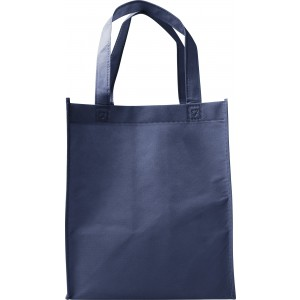 Nonwoven (80gr) carry/shopping bag., Blue (7957-05)