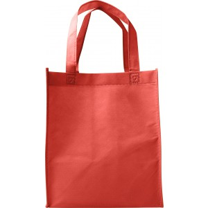 Nonwoven (80gr) carry/shopping bag., Red (7957-08)