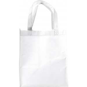 Nonwoven (80gr) carry/shopping bag., White (7957-02)