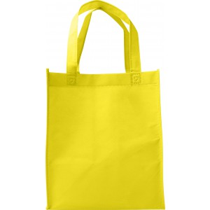 Nonwoven (80gr) carry/shopping bag., Yellow (7957-06)
