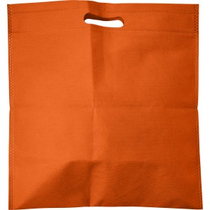 Nonwoven carry/document bag, orange (7858-07)