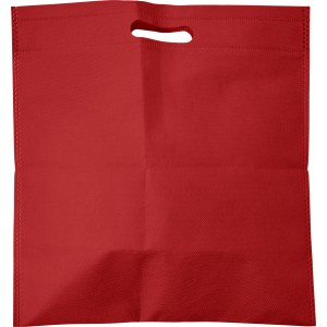 Nonwoven carry/document bag, red (7858-08)