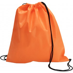 Nonwoven drawstring backpack, Orange (6232-07)