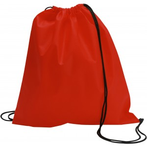 Nonwoven drawstring backpack, Red (6232-08)