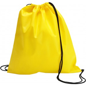 Nonwoven drawstring backpack, Yellow (6232-06)