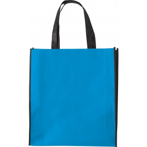 Nonwoven shopping bag (80 gr/m2)., Pale blue (0972-18CD)