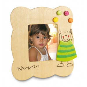 Picto wooden picture frame (IT2973-09)