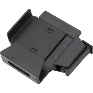 Plastic mobile phone holder for in the car., Black (6936-01)
