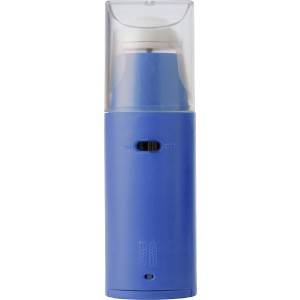 Plastic portable electronic fan, Cobalt blue (3322-23)