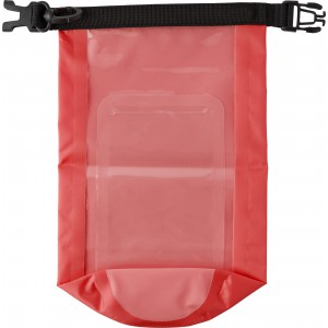 Polyester (210T) watertight bag, Red (8565-08)