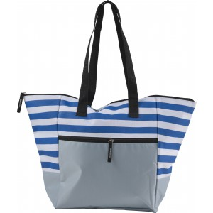Polyester (600D) beach bag, Blue (7953-05)