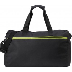 Polyester (600D) sports bag, Light green (0939-19)
