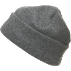 Polyester fleece beanie., Grey (1741-03)