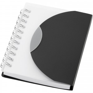 Post A7 notebook, solid black, 11 x 8 x 1 cm (10638700)
