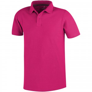 Primus short sleeve men's polo, Pink (3809621)