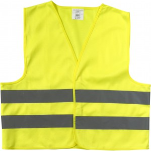Promotional safety jacket for children., yellow (6542-06)
