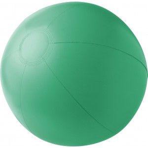 PVC inflatable beach ball., Green (4188-04)