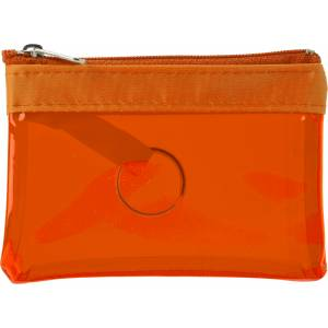 PVC zipped case with key ring (6445-07)