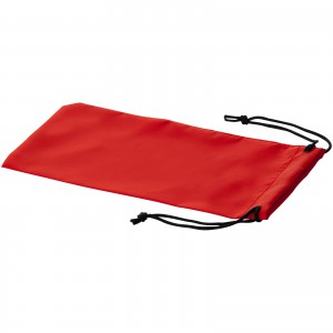 Sagol sunglasses pouch, red, 18 x 9,5 cm (10248002)
