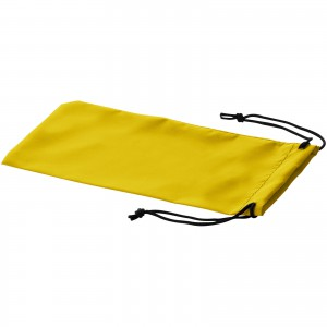 Sagol sunglasses pouch, yellow, 18 x 8,5 cm (10248005)