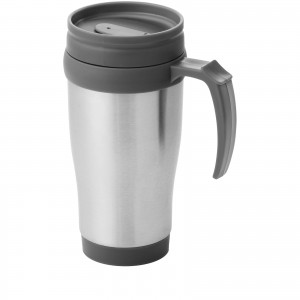 Sanibel insulated mug, grey, 12 x 18 x d: 8 cm (10029601)