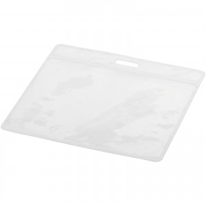 Serge badge holder, transparent clear (10220200)