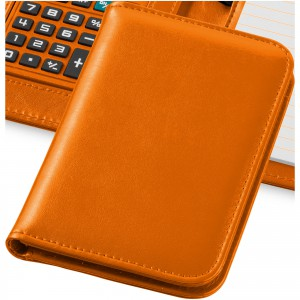 Smarti calculator notebook, orange, 16,7 x 11,3 x 2,2 cm (10673405)