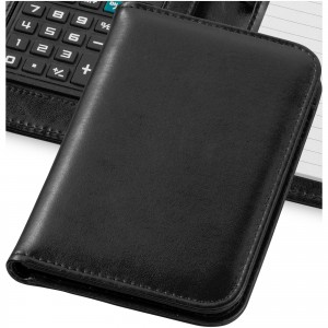 Smarti calculator notebook, solid black, 16,7 x 11,3 x 2,2 c (10673400)