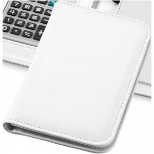 Smarti calculator notebook, white, 16,7 x 11,3 x 2,2 cm (10673403)