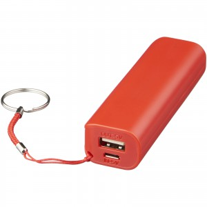 Span 1200 mAh power bank, Red, Red (Powerbanks)