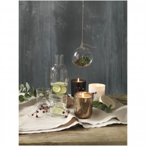 Sphere terrarium, transparent clear (decorative glassware)